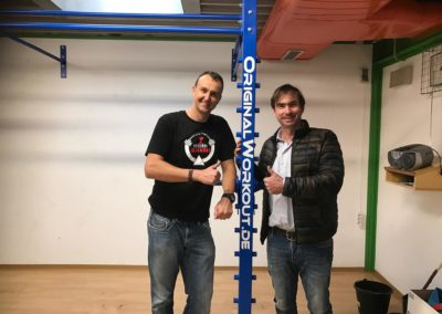 1. OriginalWorkout Wallmounted Rack Austria