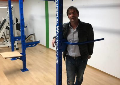 2. OriginalWorkout Wallmounted Rack Austria