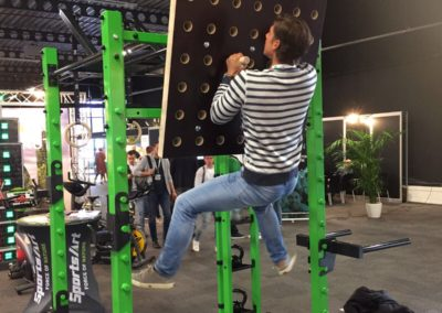 OriginalWorkout Sonderanfertigung Functional Tower Trade Show Holland