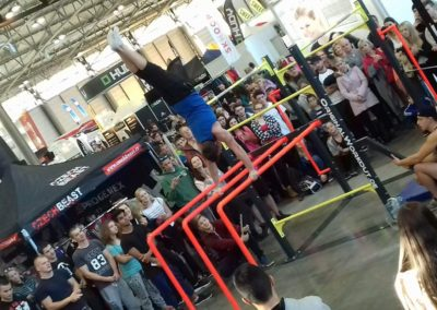 OriginalWorkout Sonderanfertigung Functional Tower Trade Show Prag