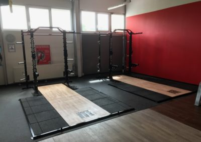 OriginalWorkout Custom Design Half Rack CleverFit