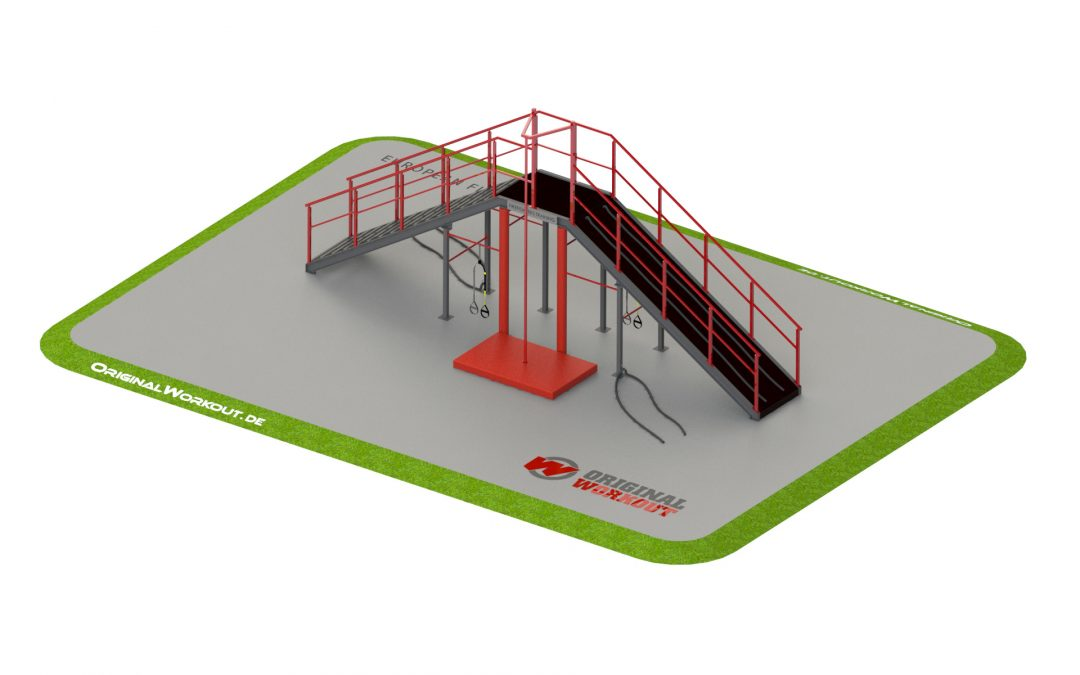 A training functional towers for firefighters 2