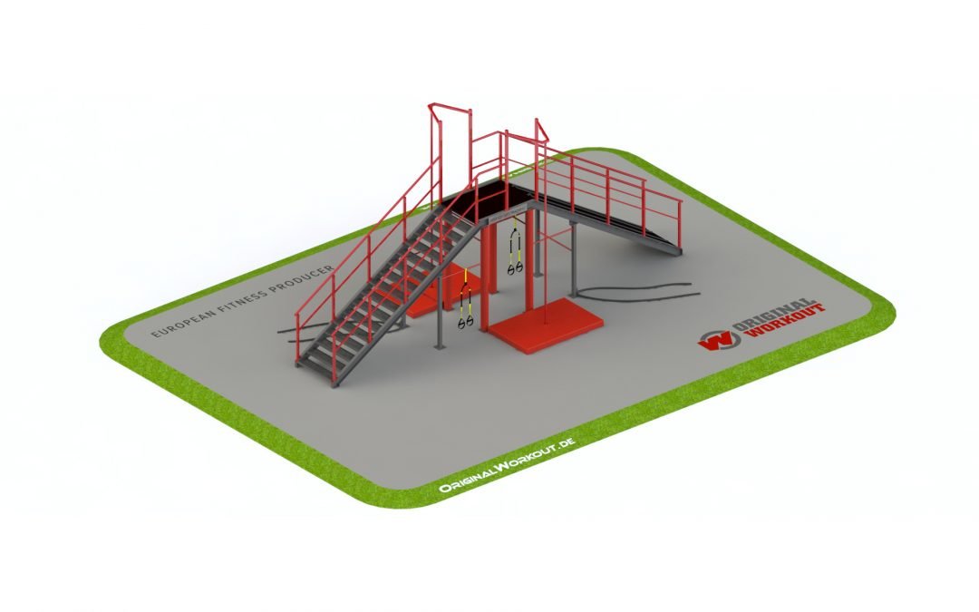 A training functional towers for firefighters 3