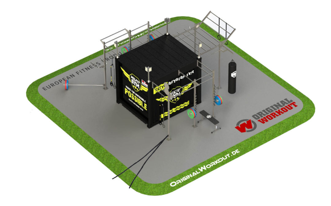 Milfit gym fitness container 10 ® ft
