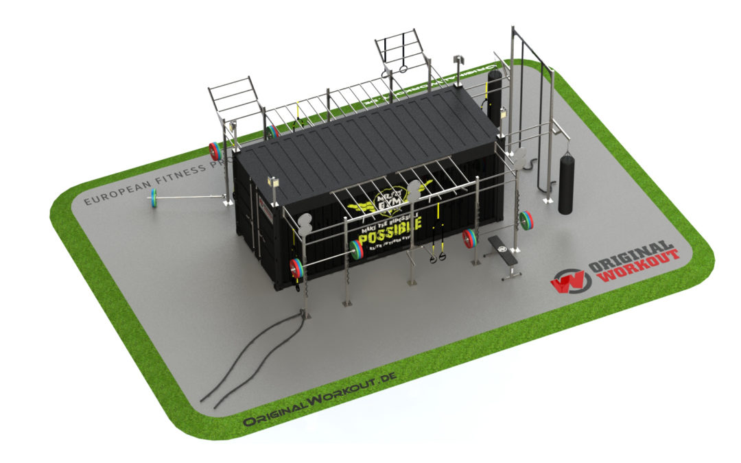Milfit gym fitness container 20 ft
