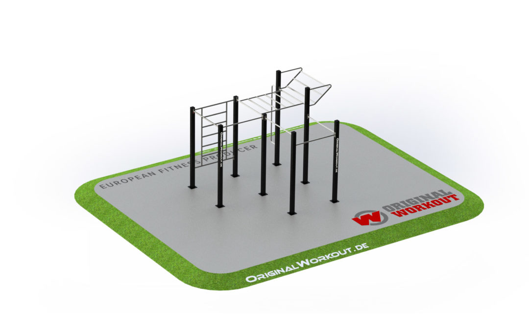 Street workout stainless steel 2