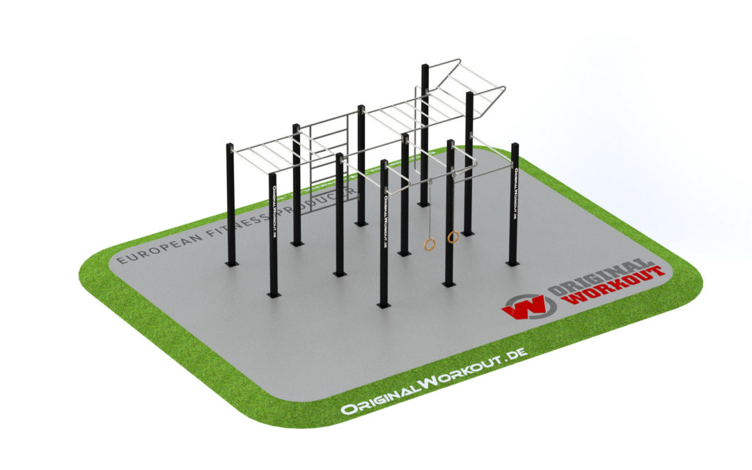 Street workout stainless steel 3