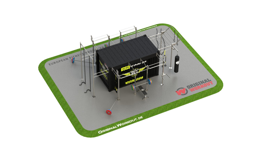Milfit gym fitness container 15 ® ft