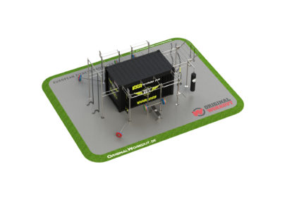 Milfit gym fitness container ® 15 ft